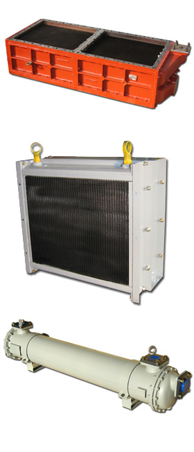 CHAUSSON AND MARCAM charge air coolers